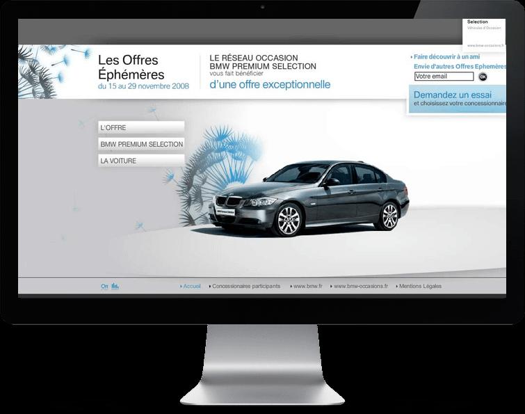 BMW - offres ephémères